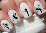 tinkerbell fairy nail decals