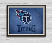 Tennessee Titans Art Print Tennessee Titans by ...