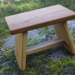 Wooden Step Stool Chair Handicapped Shower For Kids Rustic Bathroom