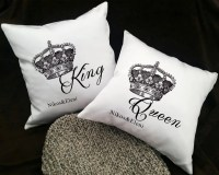 Couple Pillows Couples Pillowcases His and Hers Pillows