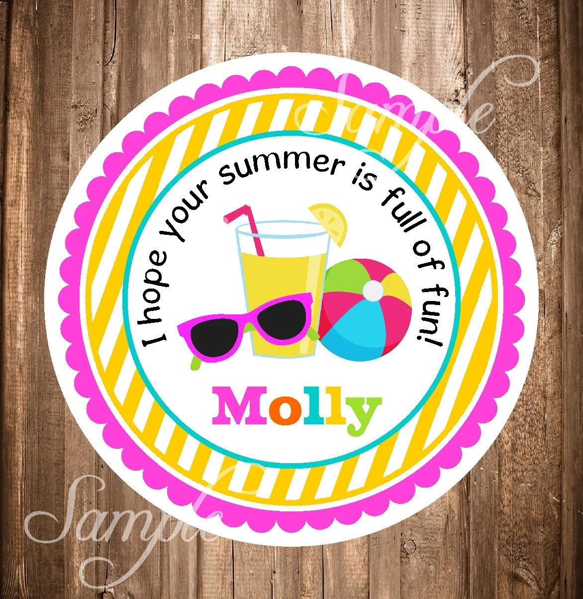 End Of School Year Tag Last Day Of School T Tag Printable