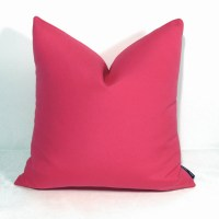 Hot Pink Outdoor Pillow Cover Decorative Throw Pillow Case