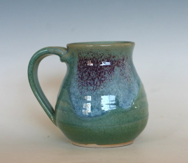 Coffee Mug Pottery 16 oz unique coffee mug handmade by