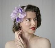 1940s hair accessories- flowers