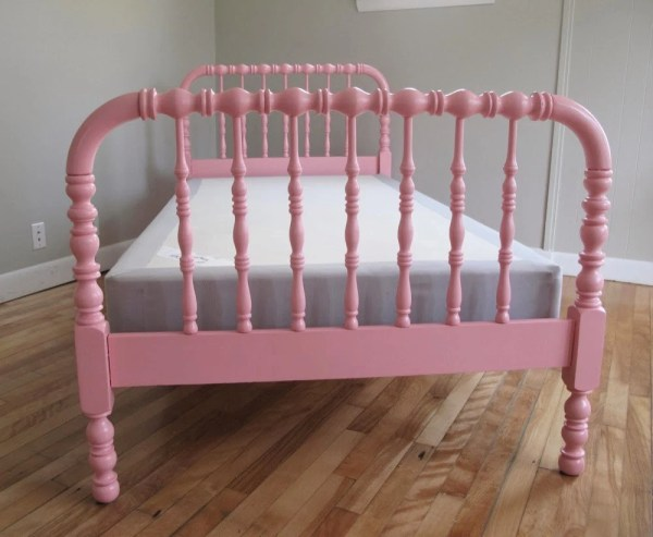 Jenny Lind Bed Twin Spindle Pink Dianemarieshome