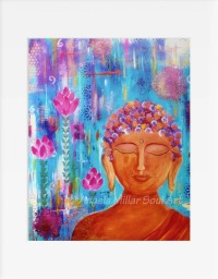 Items similar to Buddha wall art