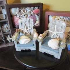 Adirondack Chair Cake Topper Marcel Breuer Cesca Replacement Beach Wedding Miniature