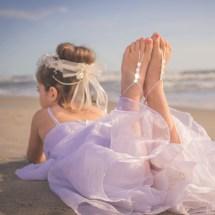 Girls Barefoot Sandals Foot Jewelry Beach Wedding Footless