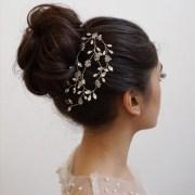 crystal comb hair vine