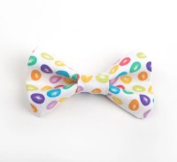 Easter bow tie jelly bean bow tie kid's easter bow tie