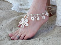 Beach Wedding Barefoot Sandals