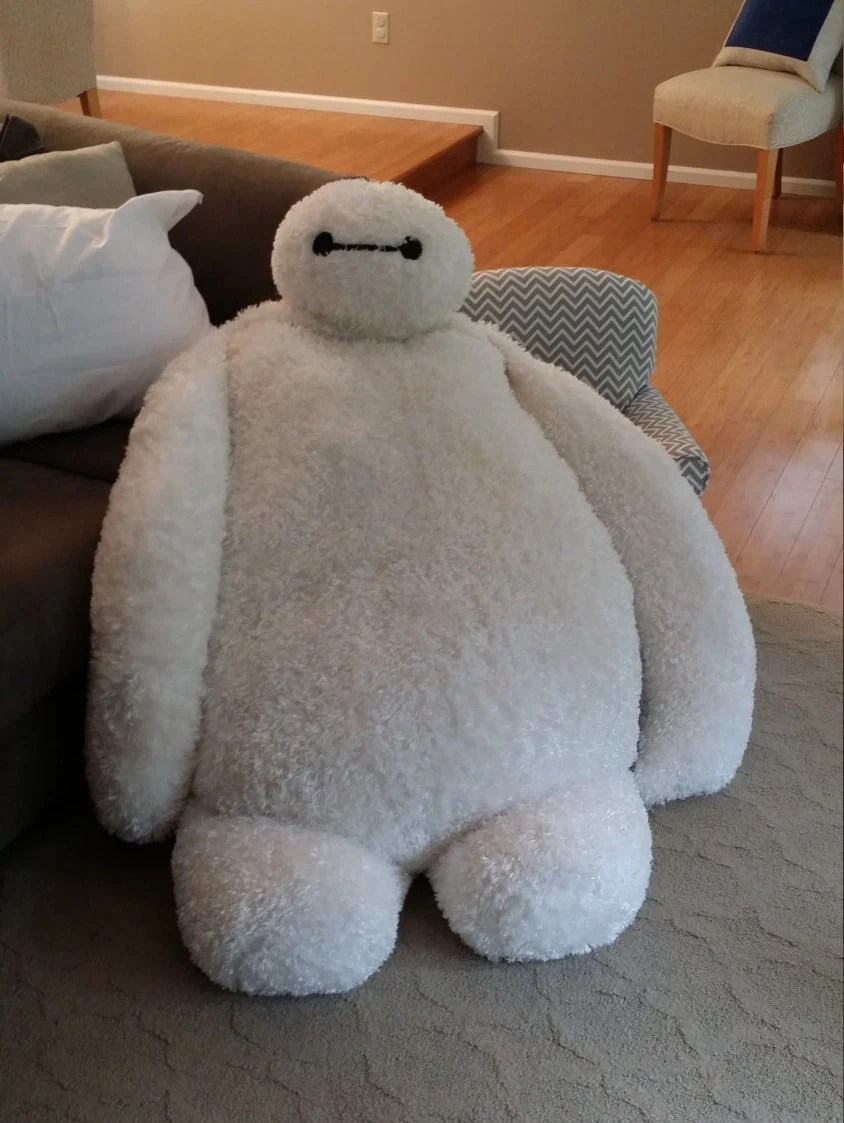 Giant Baymax Pillow Chair