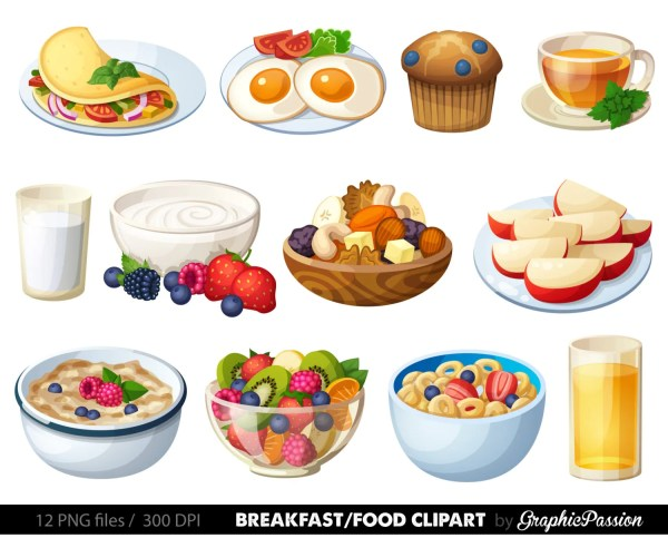 breakfast clipart food