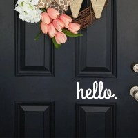 Customize door decal customize wall decal