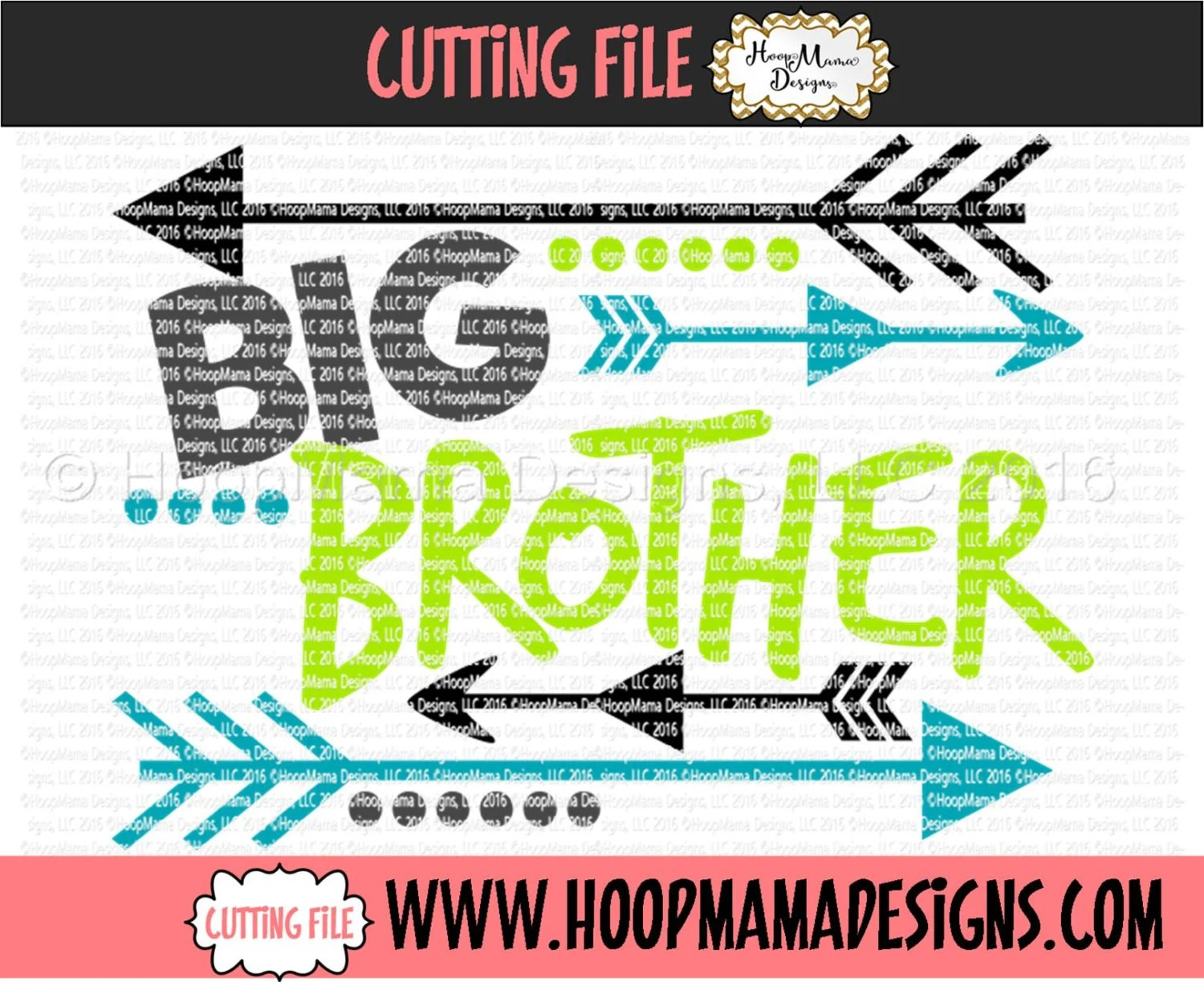 Big Brother With Arrows Svg Dxf Eps And Files For Cutting
