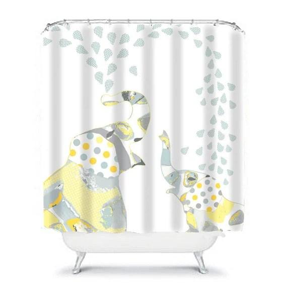 kids shower curtain elephant shower curtain elephant