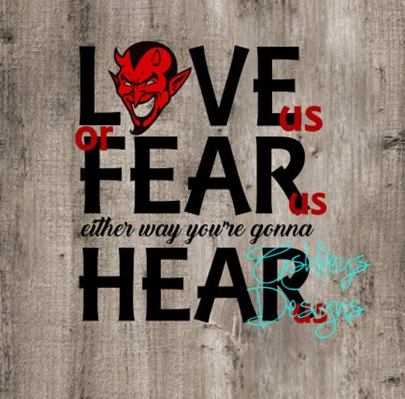 Download Devil Love us or Fear us Either Way you're Gonna by ...