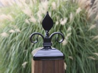 Post Cap for 6x6 Wood Fence or Gate Fence Post Decorative