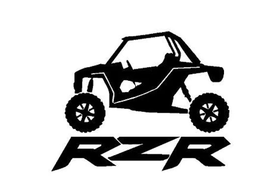 Truck Car Decal RZR Polaris Decal Vinyl decal