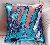 ON SALE Mermaid Pillow STUFFED 25+ Colors Many Sizes