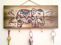 Elephant Decor / Jewelry Holder / Key Holder / Necklace Holder