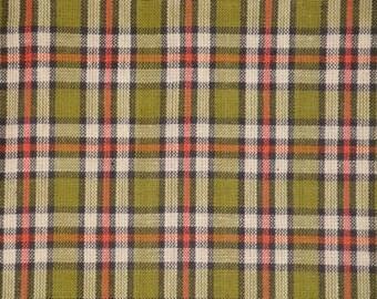 Cotton Homespun Fabric Plaid Fabric Quilt Fabric Home Decor