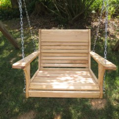 Hanging Tree Swing Chair Sit To Stand Norms Wood Swings Super Larger By Woodswings