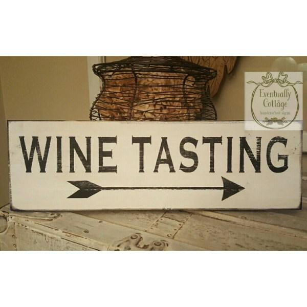 Wine Tasting Arrow Wall Decor Decorations