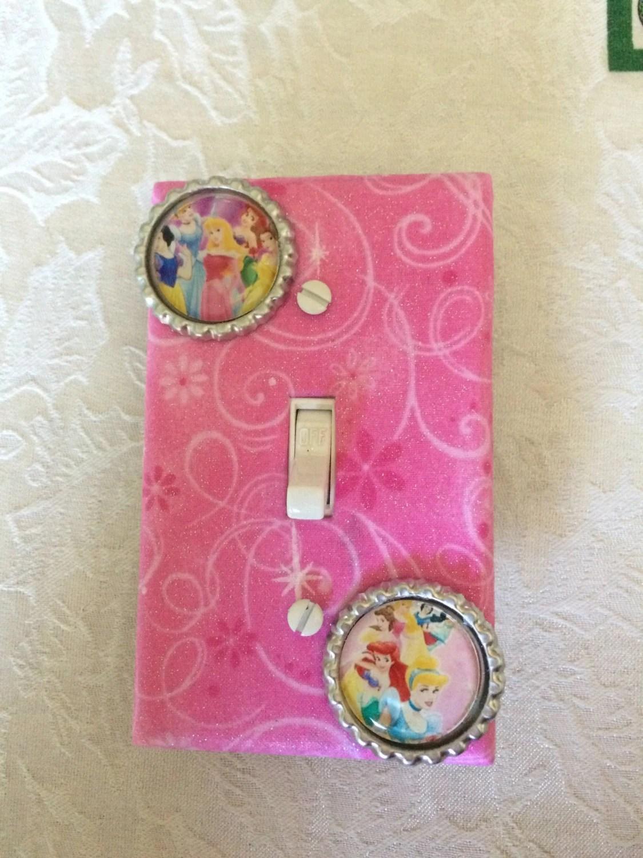 Princess Light Switch Cover Princess Bedroom Decor Pink