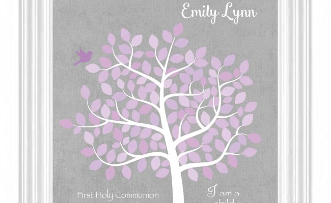 First Communion Gift Personalized Gift For First Holy