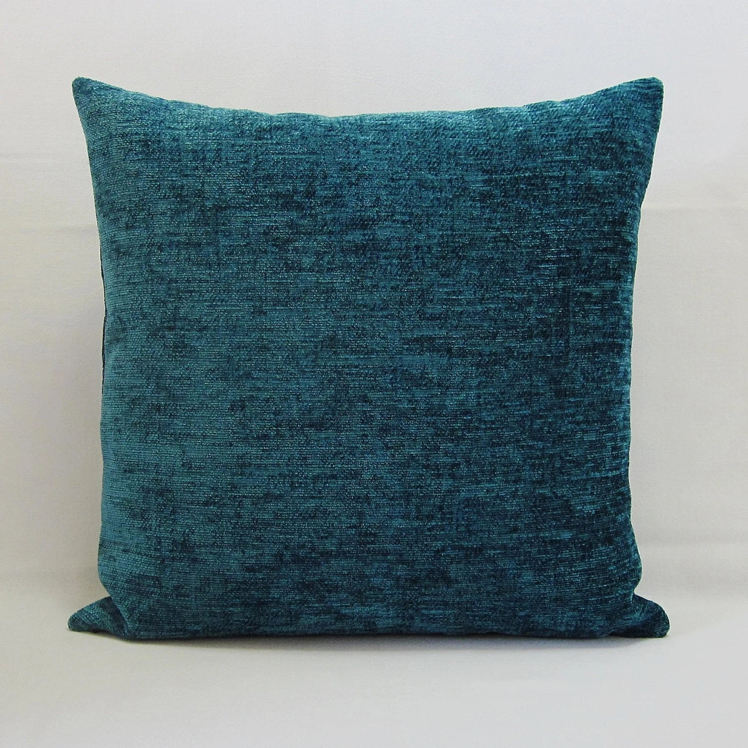 Teal Blue Throw Pillow Cover Decorative Accent Toss Couch