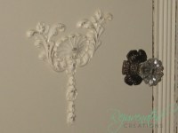 Furniture Applique / Craft Applique / do it yourself / shabby