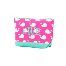 Monogrammed Accessory Bag ~ Cosmetic Bag ~ Jewelry Bag ~ Personalized Gift ~ Great Gift Idea ~ Super Cute ~ Valentine's Day ~ Easter