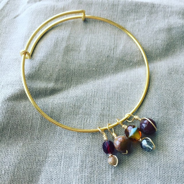 Mixed Glass and Gemstone ...