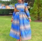 African Kitenge Dresses Long