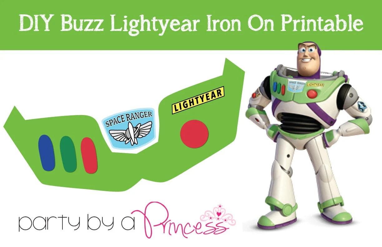 Buzz Lightyear Diy Iron On T Shirt Printable