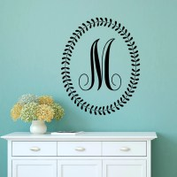 Initial Wall Decal Letters Personalized Initial Letters