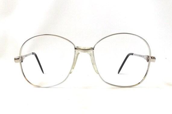 vintage 1970's round eyeglasses prescription oversized
