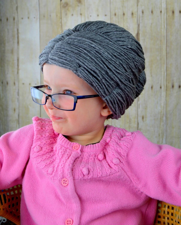 Granny Wig Yarn Wig Old Lady Hat Grandma Hair Bun Style Grey
