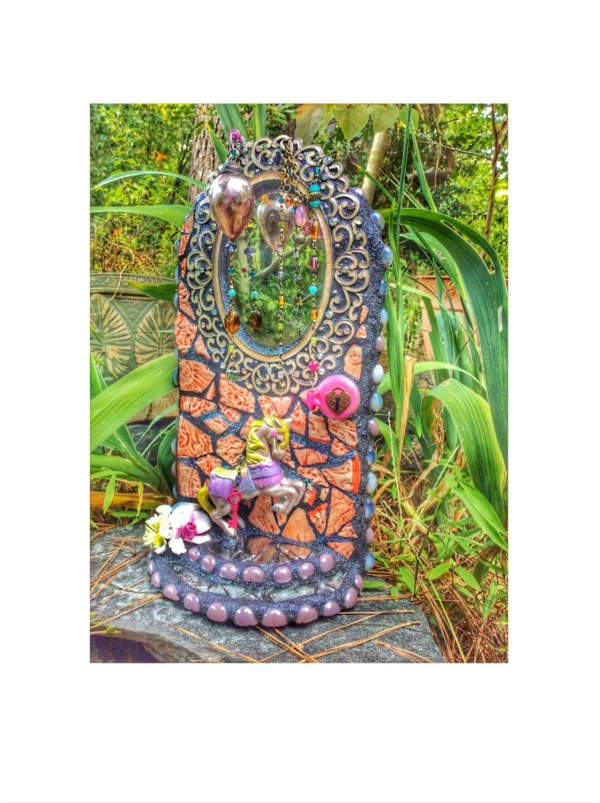 Mosaic Fairy Doormosaic Garden Art Home Decor
