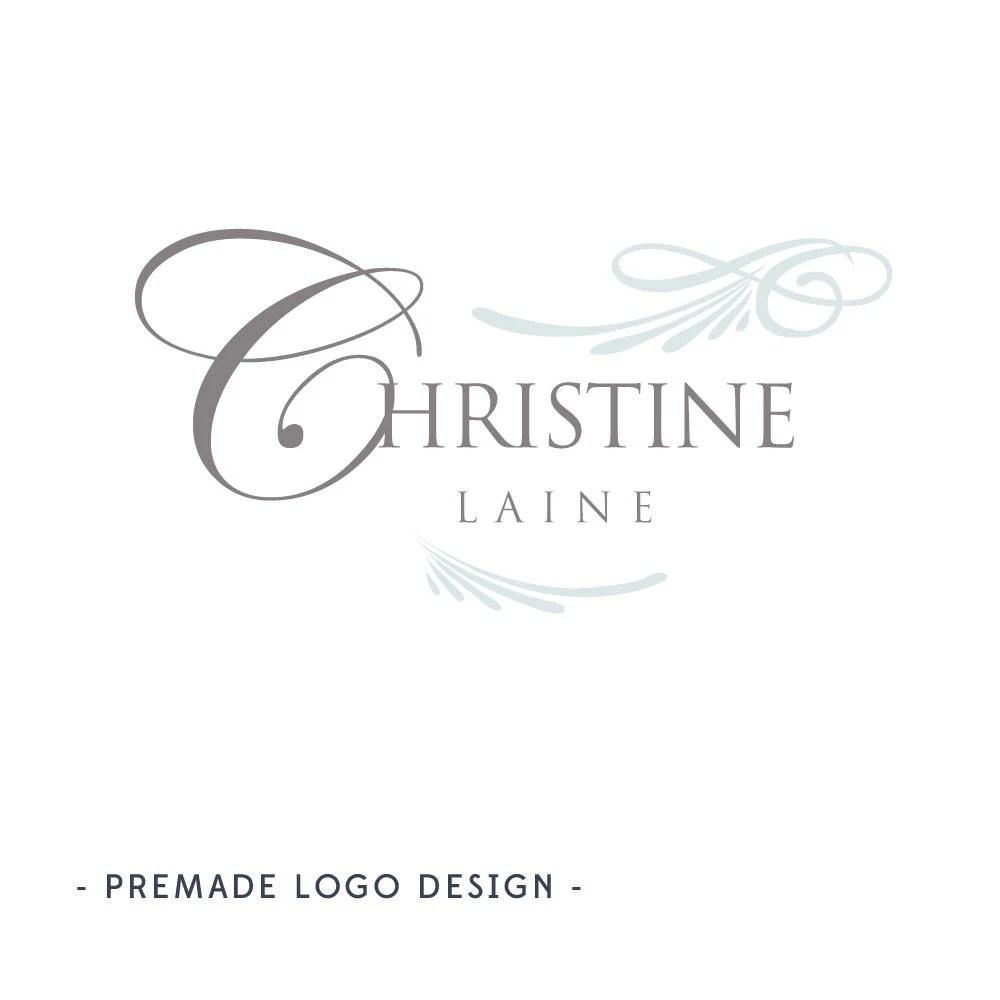Event Planning Logo Premade Boutique Logo Design Event