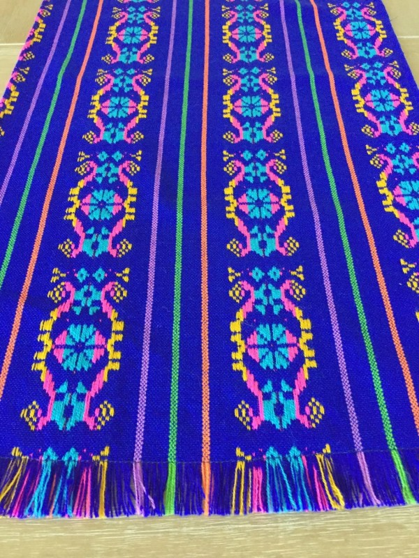 Mexican tablecloth reversible placemats table runner by