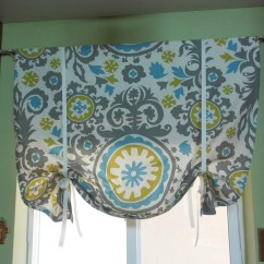 Kitchen Curtains Valances How Much Does It Cost To Do A Window Tie Up Valance Curtain