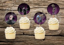 Hotel Transylvania Cupcake Toppers
