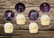 Hotel Transylvania Cupcake Toppers