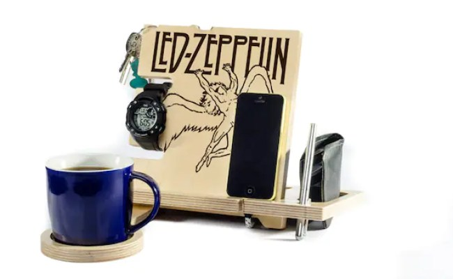 Gifts For Him Led Zeppelin Music Jimmy Page By Woodyoulikeit1