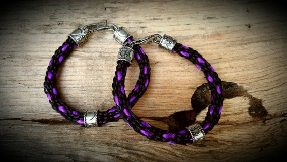 Custom Braided Horse Hair Bracelet By HorseHairCreationsCH