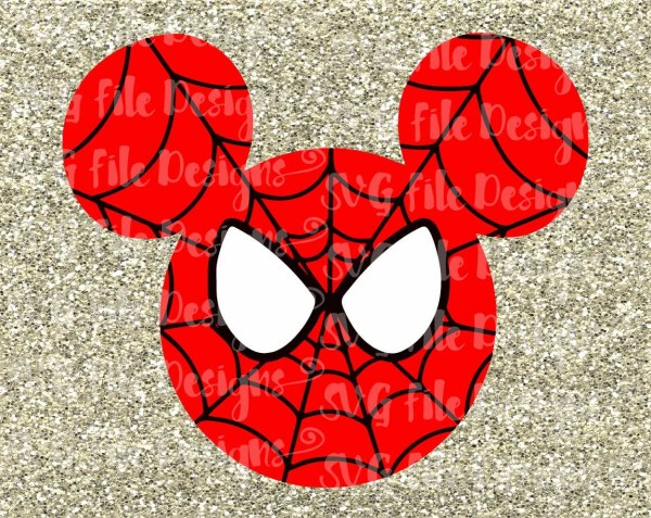 Mickey Mouse Spiderman Costume Disney Layered