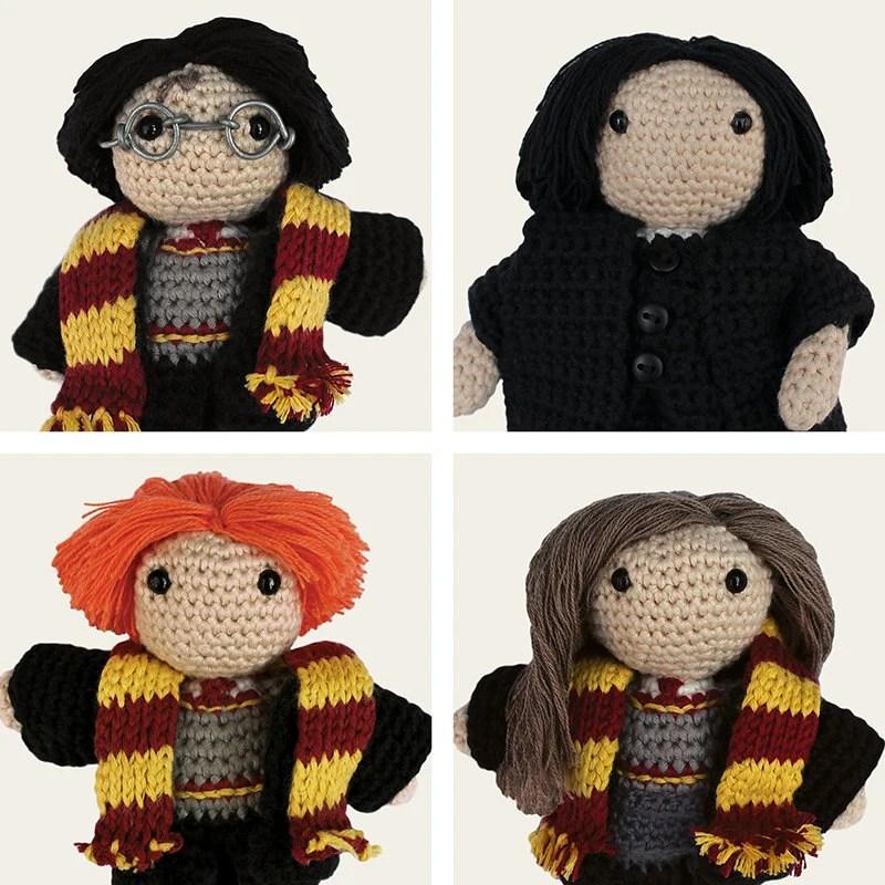 Harry Potter Pack Harry Hermione Ron Weasley & Severus