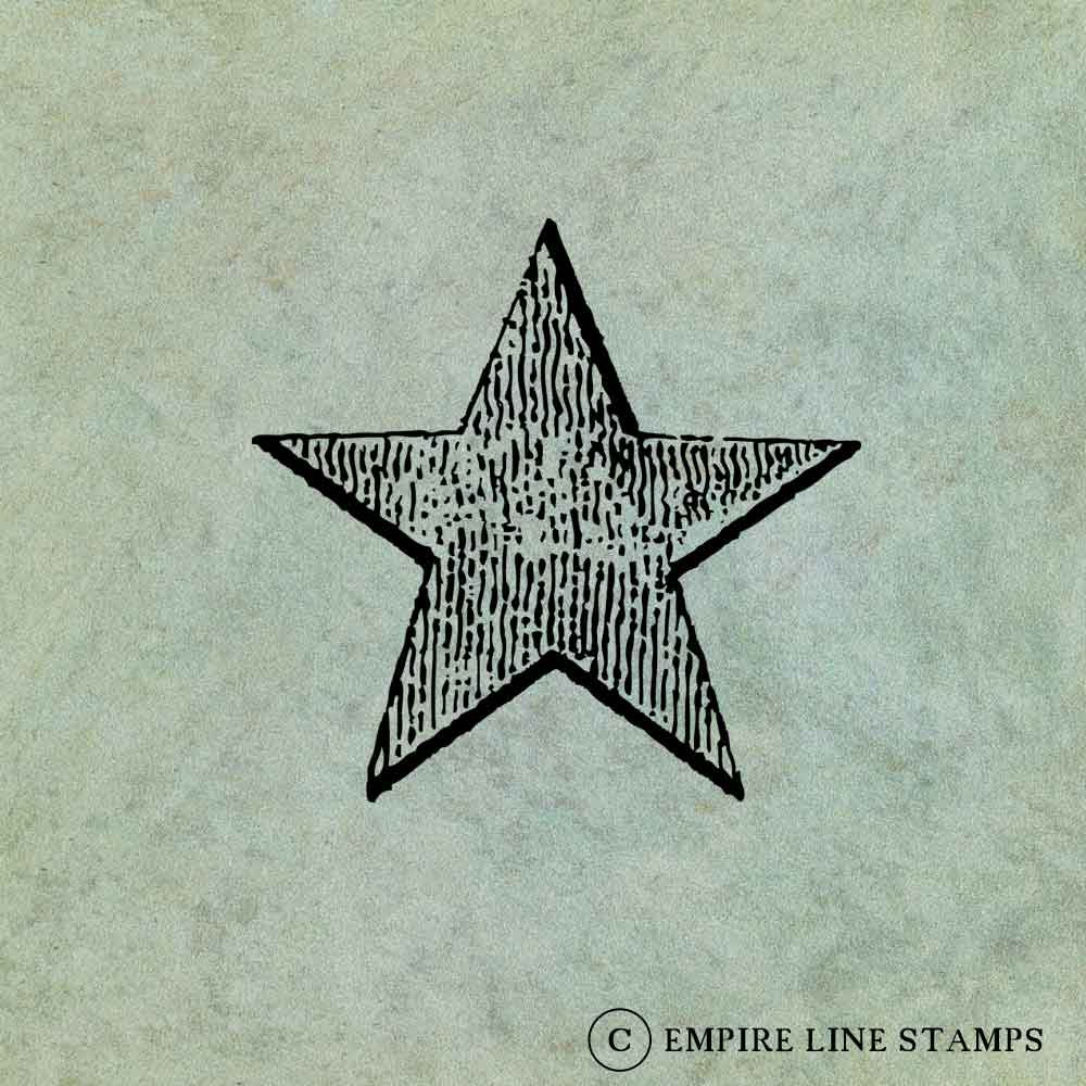 Star SMALL - Antique Styl...